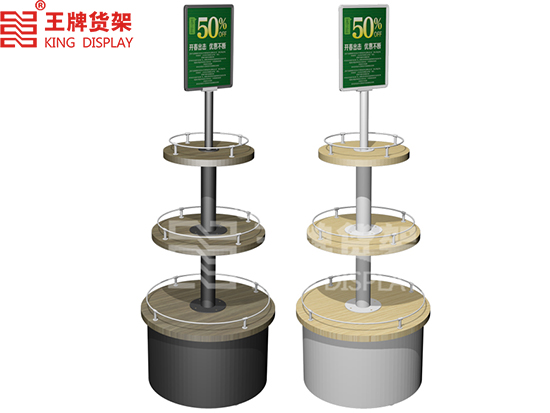Supermarket shopping malls promotional display stand